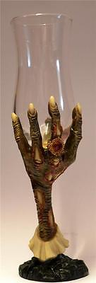 Nemesis Now GOTHIC ZOMBIE HAND GOBLET / GLASS Wiccan Pagan Clawed Skull