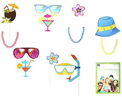 Beach Party Photo Booth accessories fancy dress wedding birthday party 181063