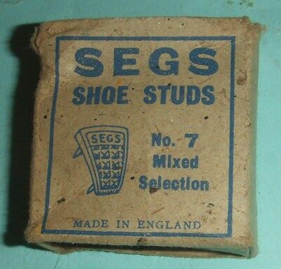 Blakey`s SEGS Shoe Studs No. 7 Mixed Selection - War Time Pack (From 1940s).