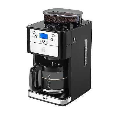 Swan Bean to Cup Coffee Maker 1.25 Litre