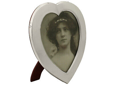 Sterling Silver Photograph Frame - Antique Victorian