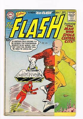 Flash # 116 The Man Who Stole Central City ! grade 4.0 scarce hot book !!