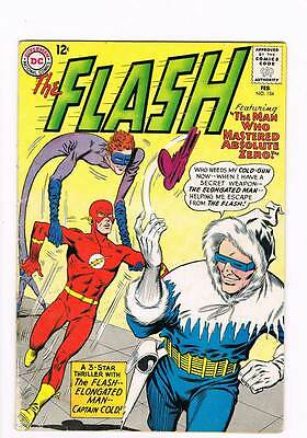 Flash # 134 The Man Who Mastered Absolute Zero ! grade 3.0 scarce hot book !!