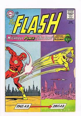 Flash # 153 The Mightiest Punch of All Time ! grade 3.5 scarce hot book !!