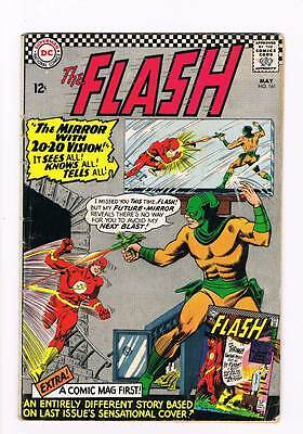 Flash # 161 The Case of the Curious Costume ! grade 4.5 scarce hot book !!