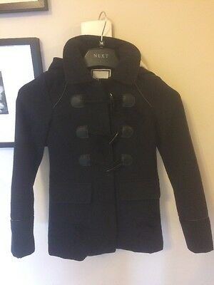 New Look, 915 Generation, Navy Blue Duffle Coat Age 9 Years