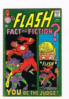 Flash # 179 The Flash - Fact or Fiction ! grade 4.0 scarce hot book !!