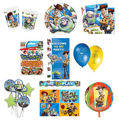 Disney TOY STORY 3 Birthday PARTY Range (Tableware Balloons & Decorations)