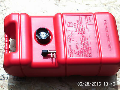 New Replacement Mercury Mariner Outboard Engine Fuel Tank + Connector