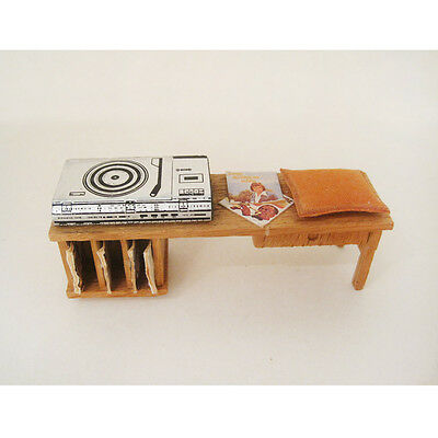 Vintage Lisa of Denmark Record Player Unit (Lundby scale)