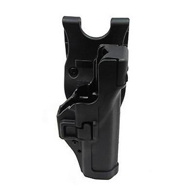 Blackhawk 44H100BK-R SERPA Level 3 Duty Belt Holster RH Fits Glock 17/19/22/23