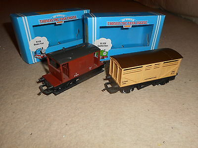 Pair of Thomas & Friends Wagons for Hornby OO Gauge Train Sets