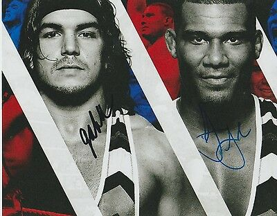 *signed*  American Alpha - 8X10 Photo  (Wwe - Smackdown)  Autographed