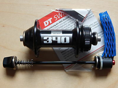 New DT Swiss 340 Classic 32h Front Hub Disc Brake Centerlock w. Skewer 100mm OLD