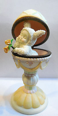 Dept 56 Snowbunnies -Where's My Prince-   Easter / Spring Time
