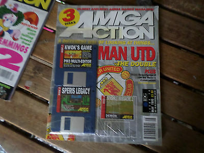 Amiga Action Magazine Issue no 70 may 95  in Good condition+coverdisks