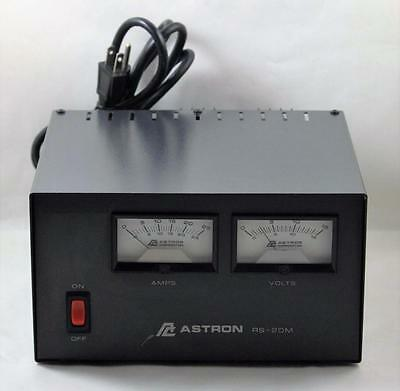 Astron RS 20M AC DC Convertor 20 Amp Meter Power Supply
