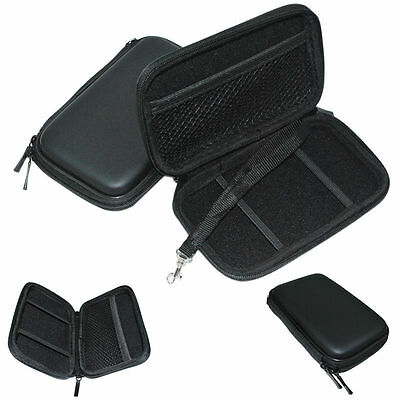 """Portable 2.5"""" Shockproof Mobile HDD Hard Disk Drive Case Cover Bag Protection JN"""