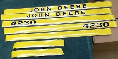 John Deere 4230 Hood Decals. Great Quality.