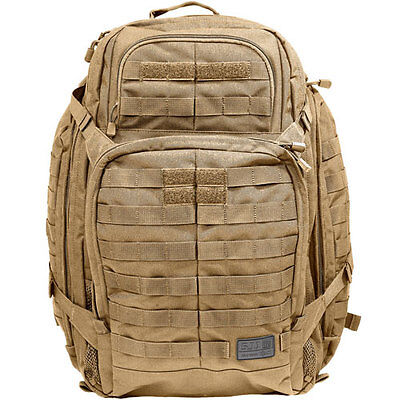 5.11 Tactical Rush 72 Unisex Rucksack Backpack - Fd Earth One Size