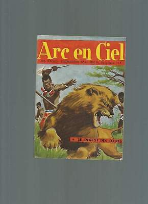 Petit Format Arc En Ciel N°4 . Éditions De L'occident . 1957 .