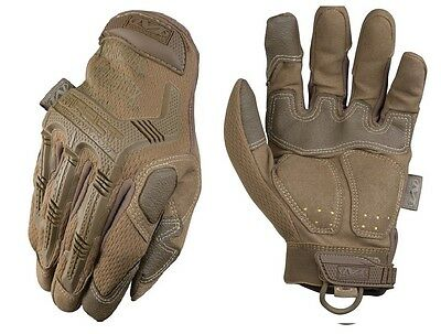 Mechanix Wear MPT-72-008 Men's Coyote Brown M-Pact Gloves TrekDry - Size Small