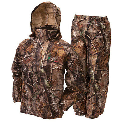 Frogg Toggs AS1310-54MD Men's Realtree Camo All Sport Rain/Water Suit - Size Med