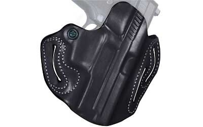 Desantis 002 Speed Scabbard Belt Holster Right Hand Black Sig P229R Leather