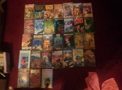 Piers Anthony lot of 37 Xanth Adept Cluster Incarnation 1-3 tarot SOS the Rope