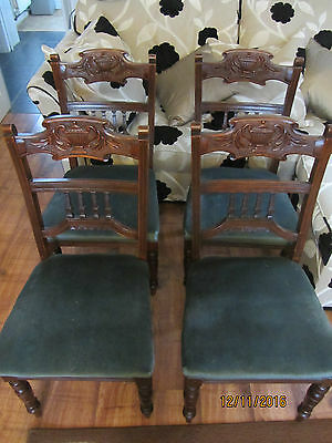 4 old chairs
