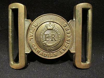 Royal Canadian Engineers Post-WWII Era 2 Piece Solid Brass Belt Buckle