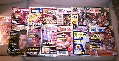 1997/1998 Warman's Today's Collector - Lot of 13 Magazines