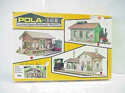 Pola G Scale Crossing Keeper's House Model Train Building # 915