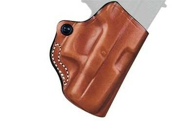 Desantis 019 Mini Scabbard Belt Holster Right Hand Tan Ruger LC9 Leather