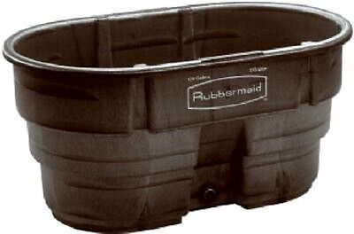 Livestock Food Container Commericial Water Farm Stock Tank  Rubbermaid 100 Gal