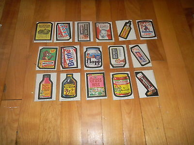 1973-75 Topps Wacky Packages Complete Wonder Bread Series 2 & 3 Set 48/48 NM-
