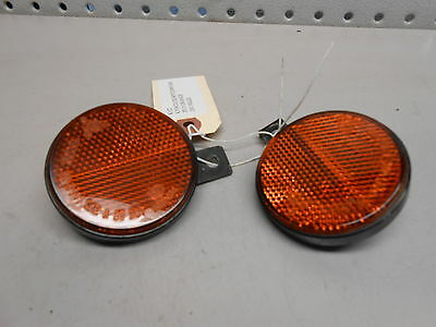 KY2 Kymco Downtown 300i 2015 Front Orange Reflectors