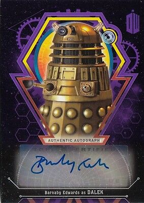 Doctor Who Extraterrestrial Encounters - Barnaby Edwards (Dalek) Autograph 05/10