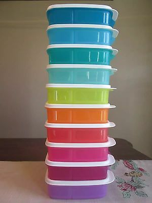 Tupperware NEW  Lunch It Container keeper DIVIDED Snacks Pick COLOR 550 ML