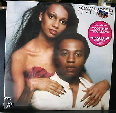 New Sealed Vinyl Record Album Soul Funk Lp Norman Connors Invitation