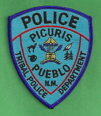 Pictures Pueblo New Mexico Tribal Police Patch
