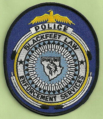 Blackfeet Montana Tribal Police Patch