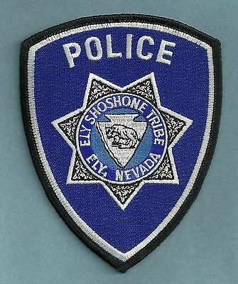 Ely Shoshone Nevada Tribal Police Patch