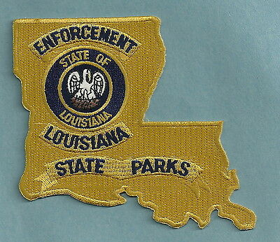 Louisiana State Parks Police Enforcement Patch