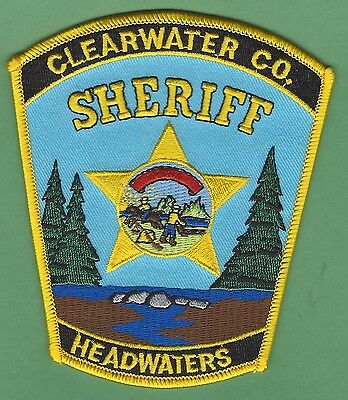 Clearwater County Sheriff Minnesota Police Patch