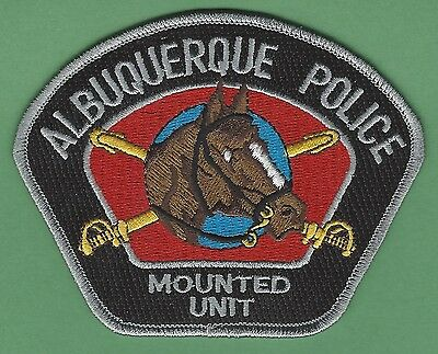 Albuquerque New Mexico Police Mounted Patrol Patch Style 2