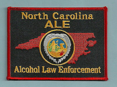 North Carolina Alcohol Law Enforcement Police Patch