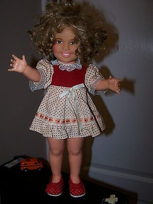 Shirley Temple 16 1/2 inches doll 1972 Ideal Toy Company HTF Outfit