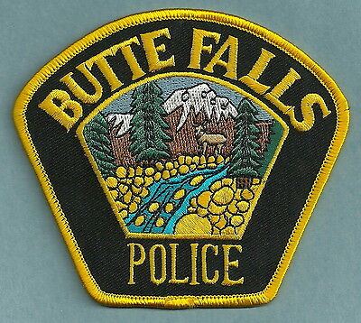 Butte Falls Oregon Police Patch