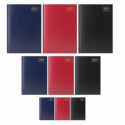 Hardback 2017 DIARY {Tallon} Day/Week to View - A6/A5/A4 (Organiser/Planner)